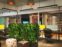 Transform Your Space Green Working Space